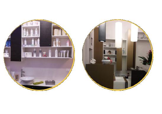 Arredamento per parrucchieri e centri estetici progettati for Arredamento per parrucchieri
