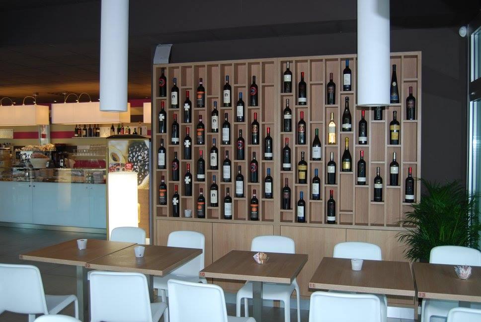 espositore wine bar