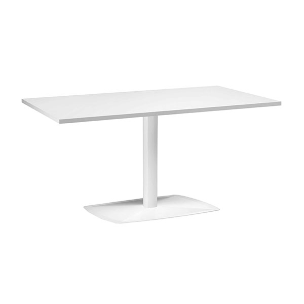 tavolo rettangolare esterno bianco